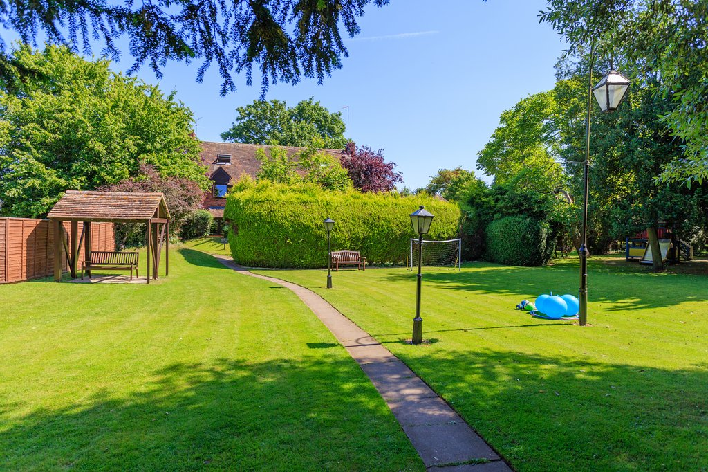 The Charlecote Pheasant Hotel gardens