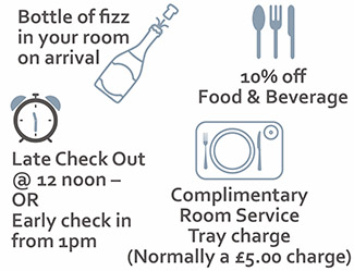 Book Direct Benefits at The Charlecote Pheasant Hotel