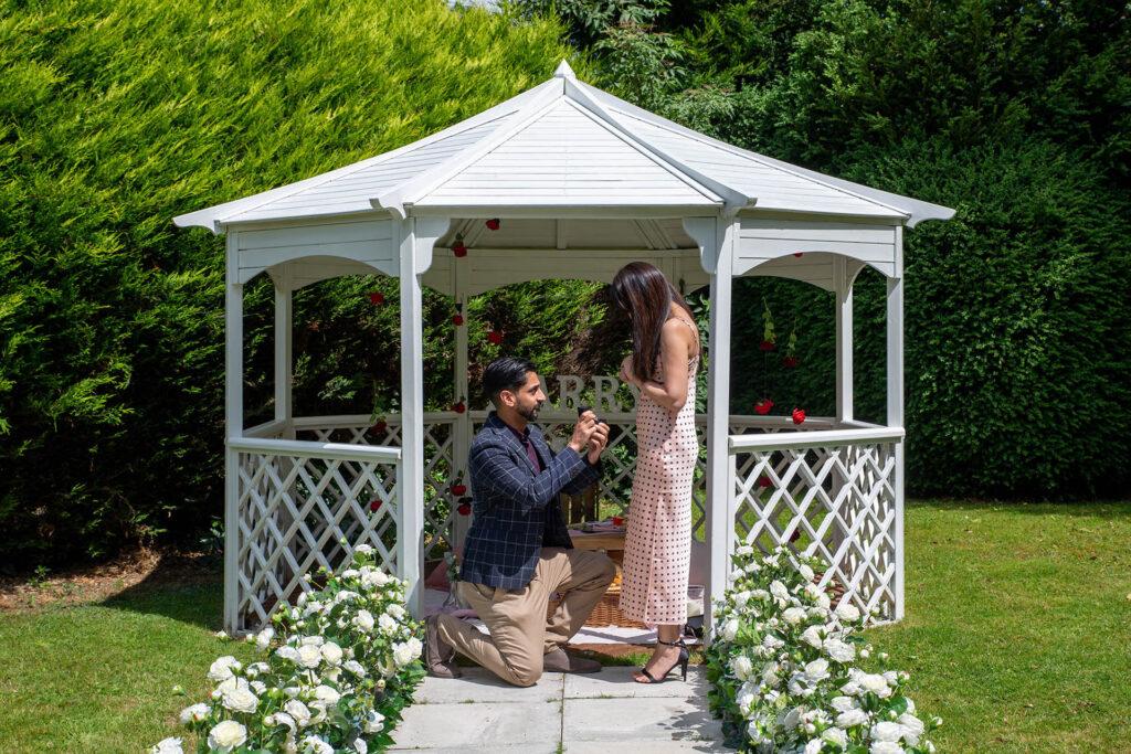 proposal package at the charlecote pheasant hotel stratford upon avon